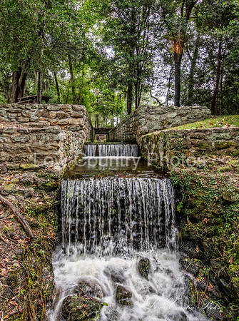 Waterfall on The Lake at Poinsett State Park