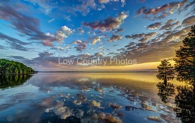 Santee State Park Sunrise