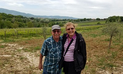Montefalco, Umbria, on the Sangratino wine road, named the balcony of Umbria