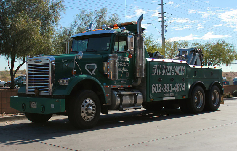 All Over Towing, AZ Freightliner