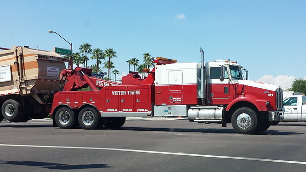 Western Towing, AZ Kenworth #51 (ps)