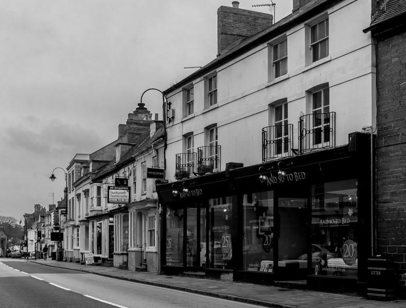 So to bed, Watling Street, Towcester