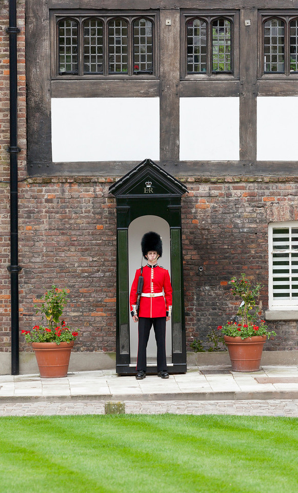 Welsh Guard on Sentry Duty at the Tower of London