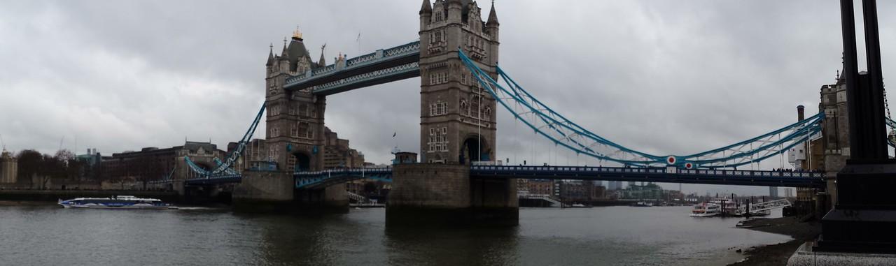 We head off toward Westminster Bridge now..