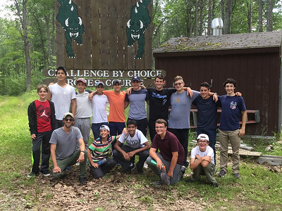 Ropes Course Challenge