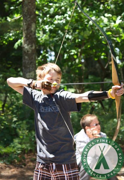 Crafts, Archery, Riding, Tennis