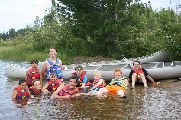 Cabin 6 Canoe Trip Memories!