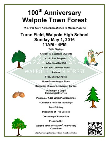 Town Forest 100th Anniversary