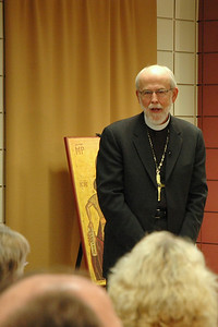 Presiding Bishop Mark S. Hanson thoughtfully responds to the question.
