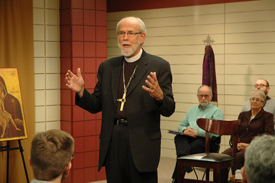 Presiding Bishop Mark S. Hanson responds to the question.