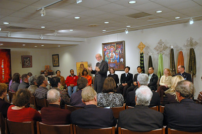 ELCA Presiding Bishop Mark S. Hanson during the November 21, 2010 Online Town Hall Forum.