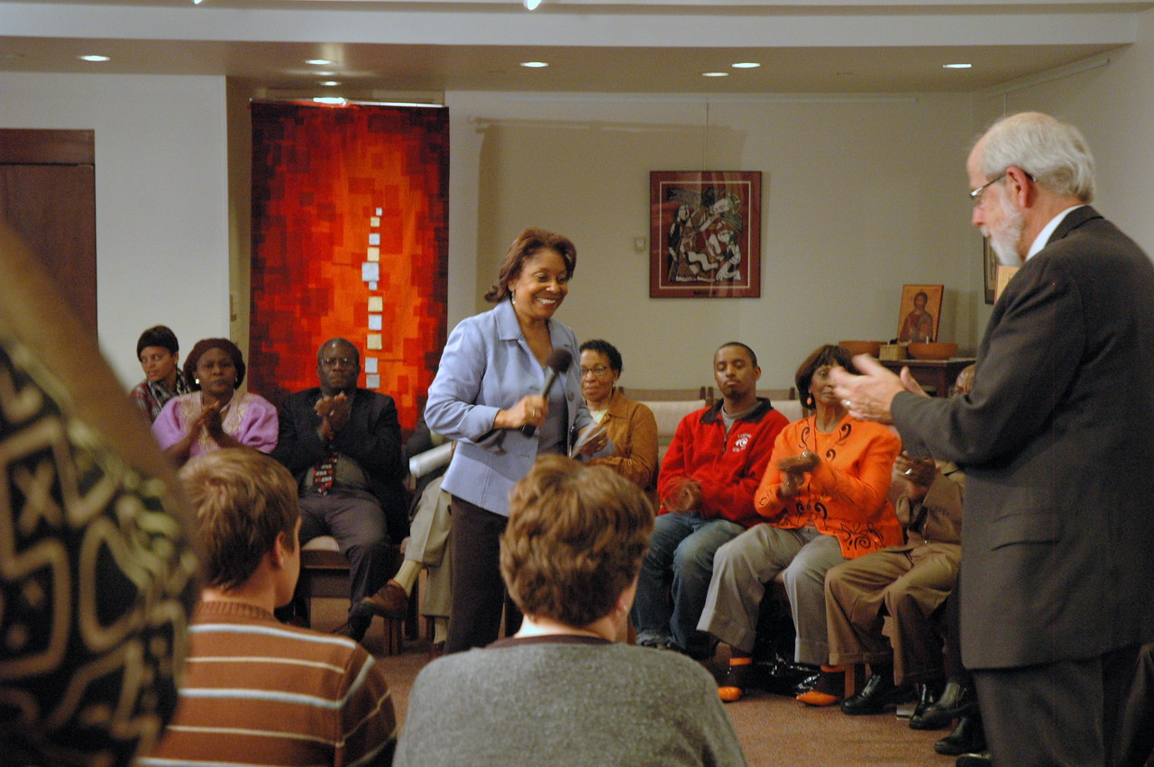 The Rev. Dr. Marion Wyvetta Bullock, Executive for Administration, ELCA Office of the Presiding Bishop, was the host of the November 21, 2010 Online Town Hall Forum.
