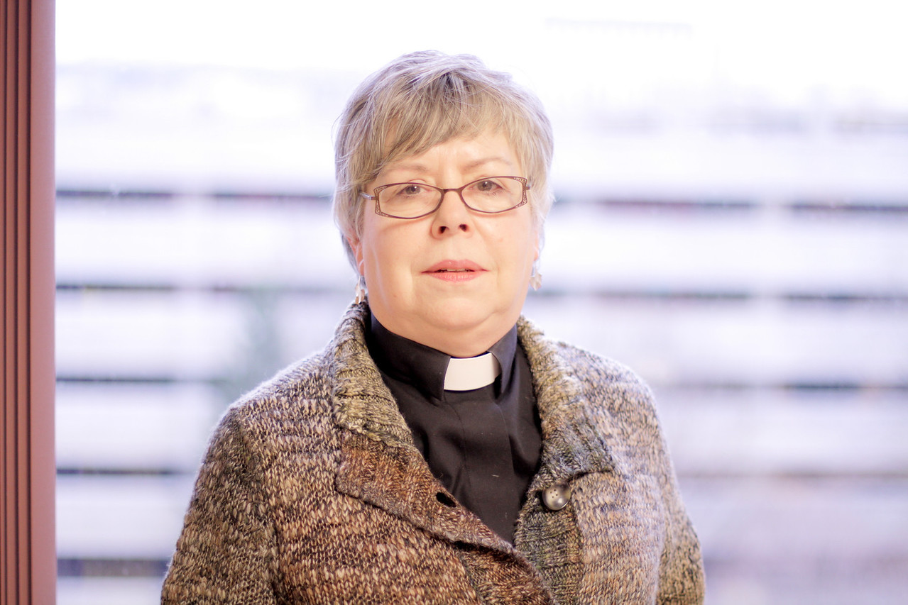 The Rev Marguerite F. Rourke, Oak Park, Illinois.  Participant in the November 21, 2010 Online Town Hall Forum with ELCA Presiding Bishop Mark S. Hanson.