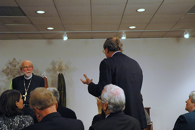 The Rev. Roger E. Timm, a member of the Lutheran Campus Ministry of Illinois board, asks ELCA Presiding Bishop Mark S. Hanson how the new ELCA churchwide structure will continue strong support for ministry with young adults?  November 21, 2010 ELCA Online Town Hall Forum.