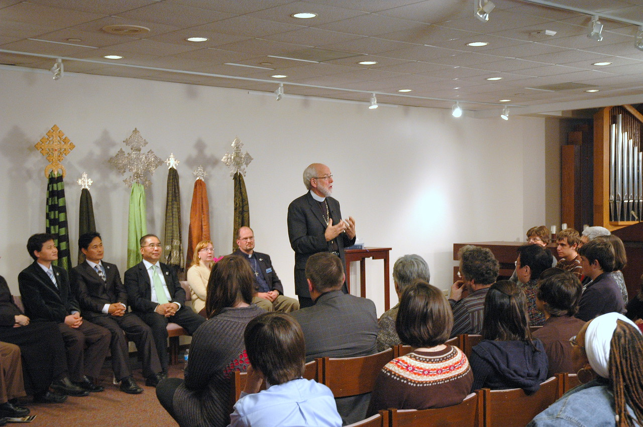 November 21, 2010 ELCA Online Town Hall Forum with ELCA Presiding Bishop Mark S. Hanson.