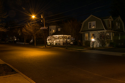 Christmas Lights on Center Ave