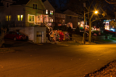 Christmas Lights along Beech Street West