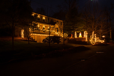 Christmas Lights on Maple Ave
