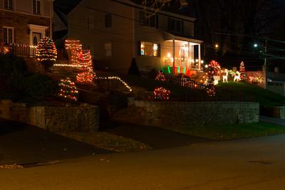Christmas Lights along Beech Street West