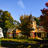 Autumn house in Glen Ridge