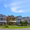 Beach Houses along Broadway in Ocean Grove