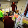 KRISTOPHER RADDER - BRATTLEBORO REFORMER<br /> Residents of Brattleboro head to the polls during Town Meeting Day on March 7, 2017.