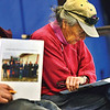 KRISTOPHER RADDER - BRATTLEBORO REFORMER<br /> Florence Crafts, of Wilmington, looks over the Wilmington Budget during Town Meeting at Twin Valley Elementary on Tuesday, March 6, 2018.