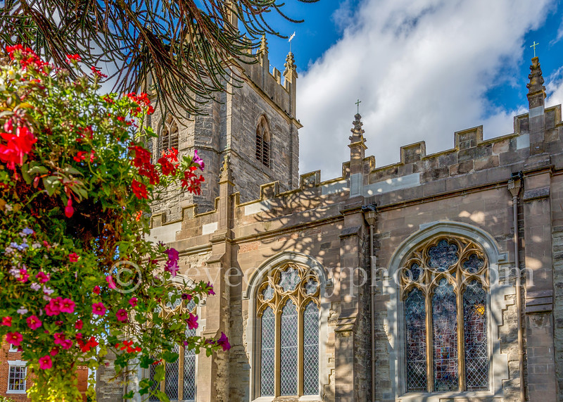 St. Nicholas Church in Alcester.
