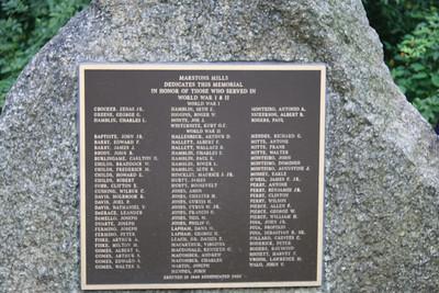 Memorials of Remebrance: Marstons Mills