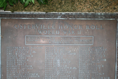 Memorials of Remembrance: Osterville
