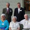 Former Town of Barnstable Selectmen<br /> Standing: Jeff Wilson and John Klimm<br /> Seated:  Gloria Rudman, Mary Montagna, Jack Aylmer