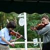 Sam Graber-Hahn, Violin, and Sydney Holwell, Viola