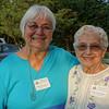 Former Selectwomen Gloria Rudman and Mary Montagna
