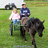 Riding in the pony cart