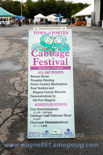 Town of Porter Cabbage Festival 2009