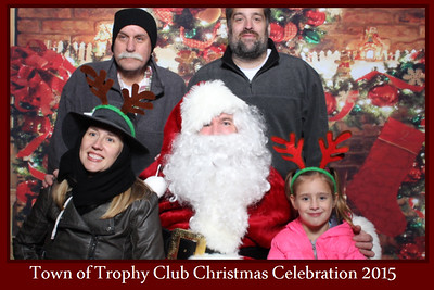 Town of Trophy Club Christmas Celebration 2015