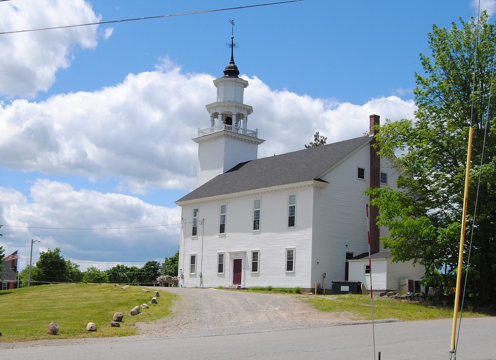 . NASHOBA VALLEY VOICE/ANNE O\'CONNOR When town officials think about how to attract and retain millennials, a vibrant street scene, affordable work space, transportation and recreation come to mind. Historical buildings like the old meetinghouse in Townsend remain part of the community.