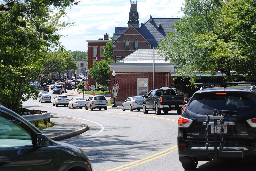 . NASHOBA VALLEY VOICE/ANNE O\'CONNOR When town officials think about how to attract and retain millennials, a vibrant street scene, affordable work space, transportation and recreation come to mind. Main Street in Ayer has a covered sidewalk and numerous storefront businesses within steps of the commuter rail.
