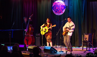 Goodnight Moonshine at the Towne Crier Cafe, 12.8.2016  Photo Credit: Andrew C. Phillips for the Towne Crier
