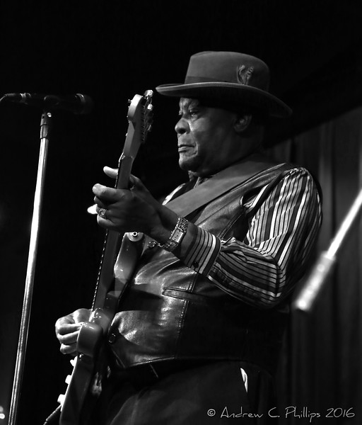 """Luther """"Guitar Jr."""" Johnson at The Towne Crier Cafe"""