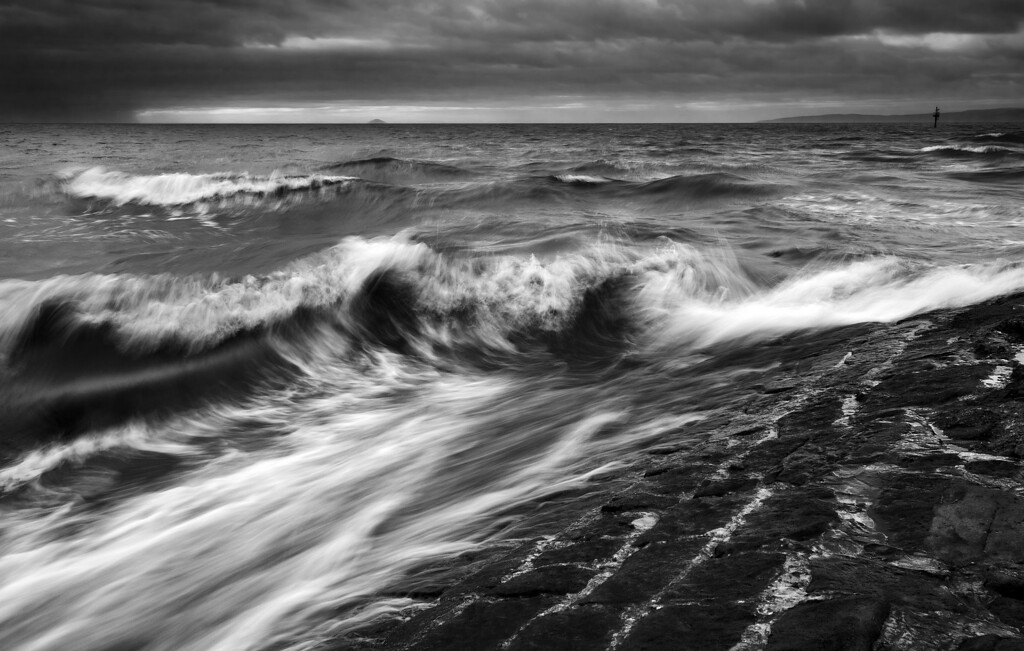 """Breaking Waves""<br /> 3rd Place<br /> 18 Points"