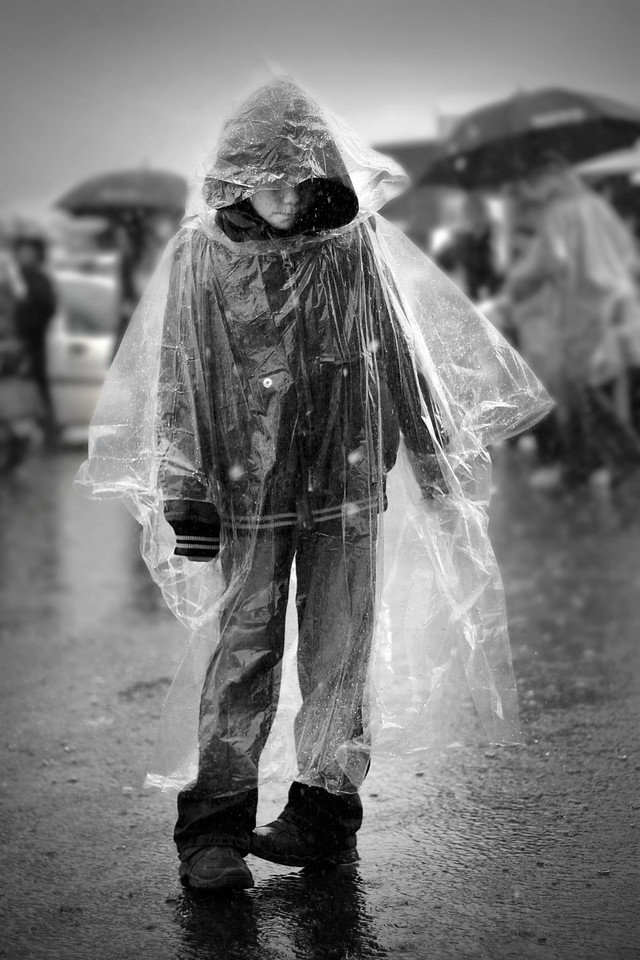 """""""Standing in the Rain""""<br /> 2nd Place<br /> Score: 19"""
