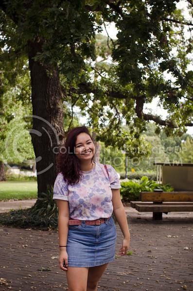 Valerie Mays enjoys her time in Manhattan (Saya Kakim| Collegian Media Group)