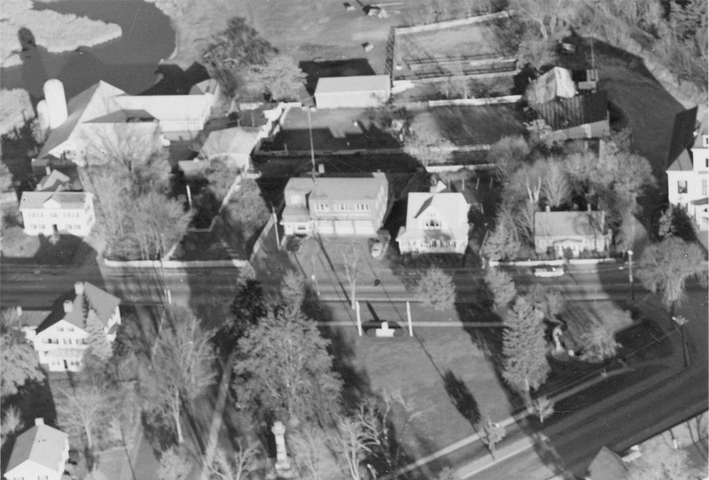 1958 Center Common Aerial View