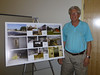 P1010764 Fred Merriam, the artist behind the photographs DPW Ribbon Cutting 7-17-2013