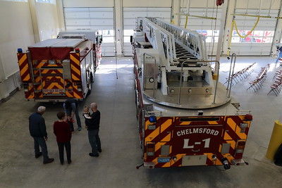 Fire Station Ribbon Cutting on 12-13-14