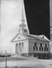 2009_10_20 First Parish Unitarian Church with lamp post, cut away