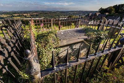 Llantrisant Parish Church graveyard