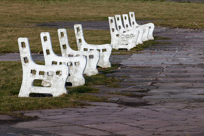 Four benches