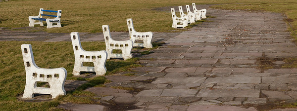 Five benches